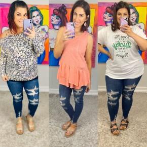 Judy Blue Damsel in Distress Jeans
