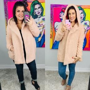 Willow Faux Fur Hoodie Jacket