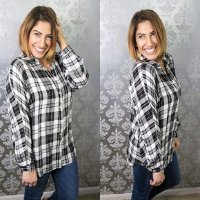 Cabin in the Woods Plaid Top