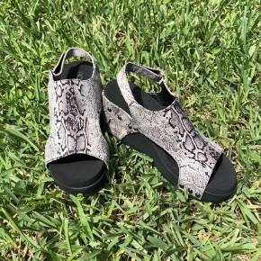 Cabot Black Snake Shoes