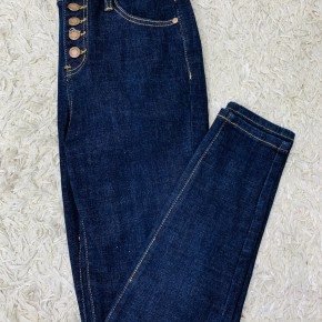 Judy Blue Rinse Wash Button Fly Skinnies
