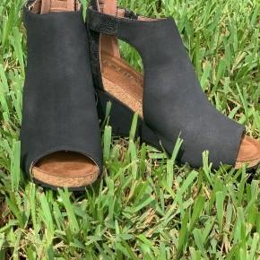 Black Sunburst Shoes