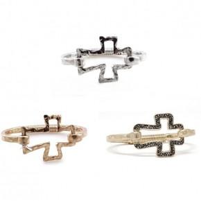 Hinged Cross Bracelets