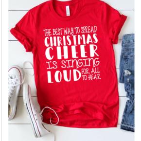 Christmas Cheer Graphic Tee
