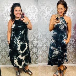 Life of the Party Dress Black