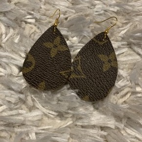 LV Teardrop Earrings