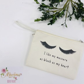 Canvas Makeup Bags