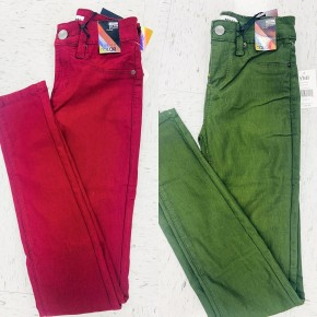 YMI Solid Super Skinny Mid Rise Jeans