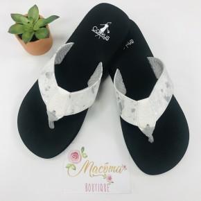 White Clover Sandals
