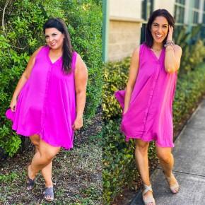 Pinkies Up Dress