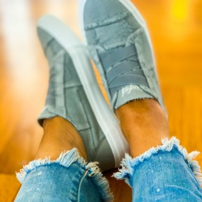 Blowfish Marley Sweet Gray Washed Shoes