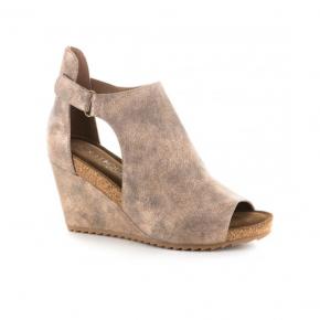 Bronze Sunburst Shoes