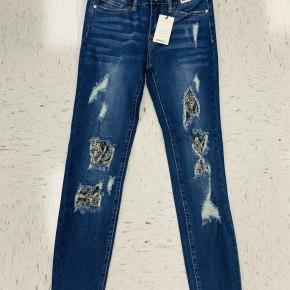 Judy Blue Snake Patch Skinny Jeans