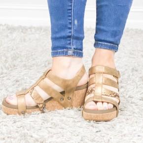 Copper Lottie Da Shoes