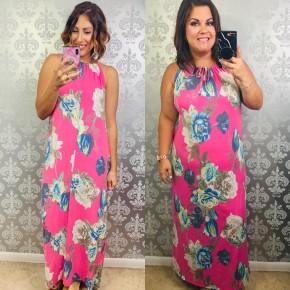 Pink Aloha Babe Dress