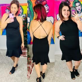 Ball Drop Ready Dress