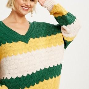 Chunky V Neck Sweater *Final Sale*