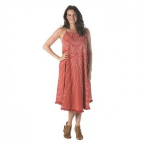 Maxi dress Cover up coral *Final Sale*