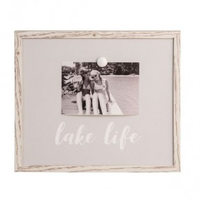 Gray Magnet Frame-Lake Life