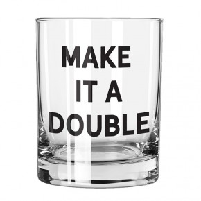 Make it a Double Rocks Glass