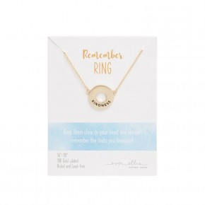 Remember Ring Necklace Kindness