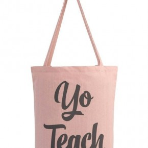 Yo Teach Canvas Tote Bag