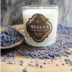 Truelux Lotion Candle Lavender