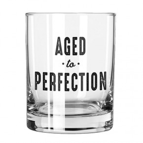 Aged to Perfection Rocks Glass