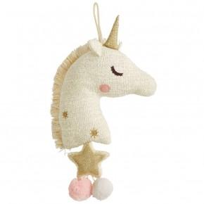 Gold Unicorn Musical Pull