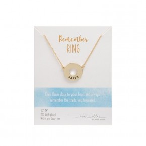 Remember Ring Necklace Faith