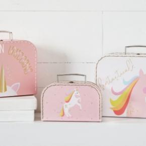 Unicorn Nested Suitcases