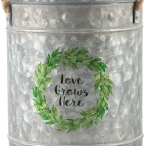 Love Grows Here Bucket