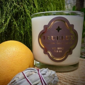 Truelux Lotion Candle Redwood