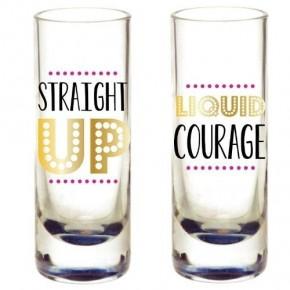 Shot Glass Set Straight Up