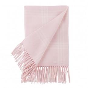 Pink Plaid Baby Blanket