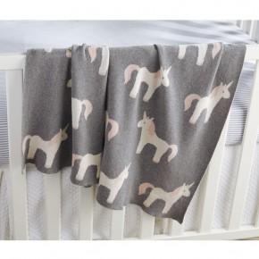 Unicorn Knit Blanket