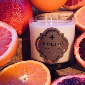 Truelux Lotion Candle Blood Orange