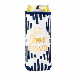 Chief Chaos Coordinator Skinny Can Cooler