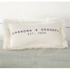 Grandma Grandpa Est 2020 Pillow