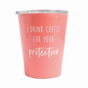 Coffee Tumbler For Your Protection *Final Sale*