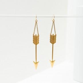Big Arrow Earrings