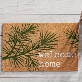 Pine Welcome Doormat
