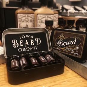 Iowa Beard Company Beard Oil Sample Pack