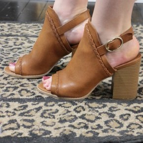 Step In The Right Direction Booties - Brown