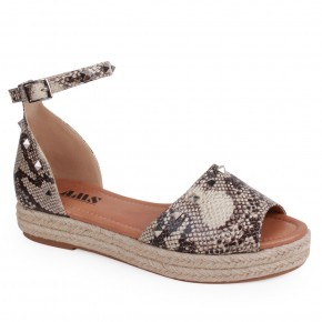 Sassy Snake Skin Sandals - Sizes 6-11