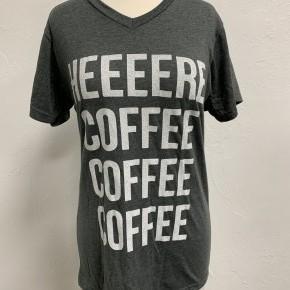 Heeeeere Coffee Coffee Graphic Tee ~ Sizes 4-12