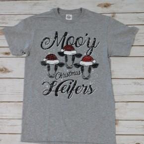 Moo'y Christmas Heifers