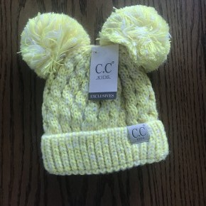 Yellow Kids CC Beanie