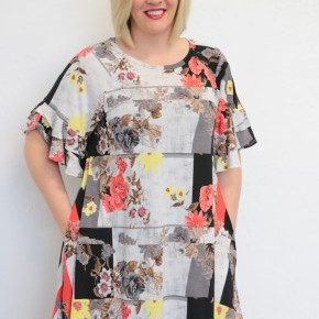 Love Me Long Floral Dress - Sizes 4-20
