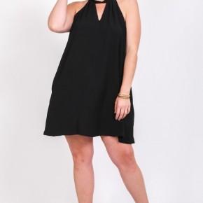 Feeling Fancy Sleeveless Dress in Black - Sizes 12-20